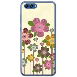 Funda Gel Tpu para Huawei Honor View 10 Diseño Primavera En Flor  Dibujos