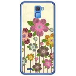 Funda Gel Tpu para Oukitel K5000 Diseño Primavera En Flor Dibujos