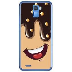 Funda Gel Tpu para Oukitel K5000 Diseño Helado Chocolate Dibujos