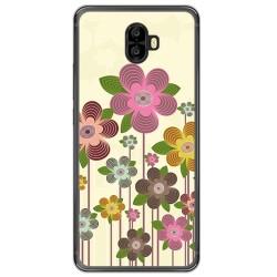 Funda Gel Tpu para Oukitel K8000 Diseño Primavera En Flor Dibujos