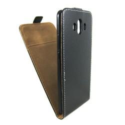 Funda Piel Premium Negra Ultra-Slim para Huawei Mate 10