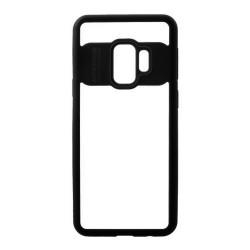 Funda Hybrid (Pc+Tpu) Negra para Samsung Galaxy S9