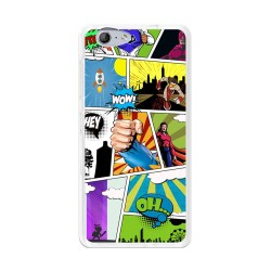 Funda Gel Tpu para Orange Neva 80 / Zte Blade V770 Diseño Comic Dibujos