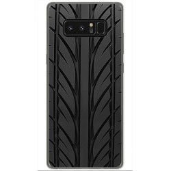 Funda Gel Tpu para Samsung Galaxy Note 8 Diseño Neumatico Dibujos