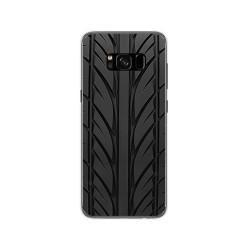 Funda Gel Tpu para Samsung Galaxy S8 Diseño Neumatico Dibujos