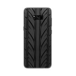 Funda Gel Tpu para Samsung Galaxy S8 Plus Diseño Neumatico Dibujos