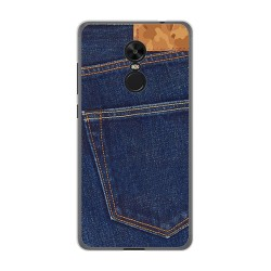 Funda Gel Tpu para Xiaomi Redmi Note 4X / 4 Version Global Diseño Vaquero Dibujos