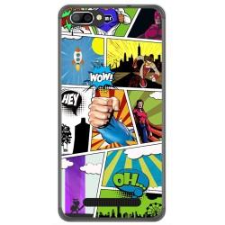 Funda Gel Tpu para Doogee X20 / X20L Diseño Comic Dibujos