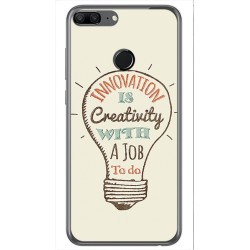 Funda Gel Tpu para Huawei Honor 9 Lite Diseño Creativity Dibujos