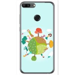 Funda Gel Tpu para Huawei Honor 9 Lite Diseño Familia Dibujos