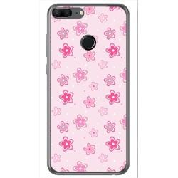 Funda Gel Tpu para Huawei Honor 9 Lite Diseño Flores Dibujos