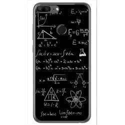 Funda Gel Tpu para Huawei Honor 9 Lite Diseño Formulas Dibujos