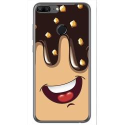 Funda Gel Tpu para Huawei Honor 9 Lite Diseño Helado Chocolate Dibujos