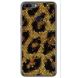 Funda Gel Tpu para Huawei Honor 9 Lite Diseño Leopardo Dibujos