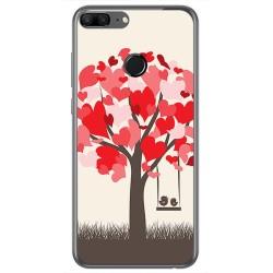 Funda Gel Tpu para Huawei Honor 9 Lite Diseño Pajaritos Dibujos