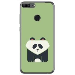 Funda Gel Tpu para Huawei Honor 9 Lite Diseño Panda Dibujos