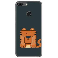 Funda Gel Tpu para Huawei Honor 9 Lite Diseño Tigre Dibujos