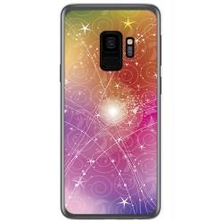 Funda Gel Tpu para Samsung Galaxy S9 Diseño Abstracto Dibujos