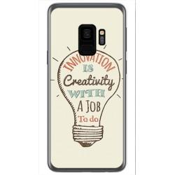 Funda Gel Tpu para Samsung Galaxy S9 Diseño Creativity Dibujos