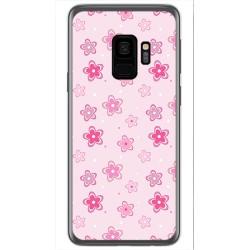 Funda Gel Tpu para Samsung Galaxy S9 Diseño Flores Dibujos