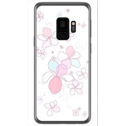 Funda Gel Tpu para Samsung Galaxy S9 Diseño Flores Minimal Dibujos