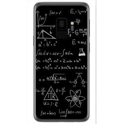 Funda Gel Tpu para Samsung Galaxy S9 Diseño Formulas Dibujos