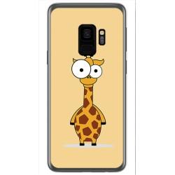 Funda Gel Tpu para Samsung Galaxy S9 Diseño Jirafa Dibujos