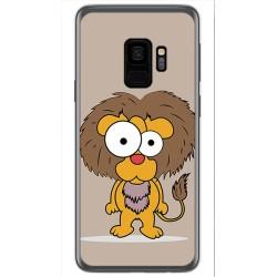 Funda Gel Tpu para Samsung Galaxy S9 Diseño Leon Dibujos