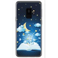 Funda Gel Tpu para Samsung Galaxy S9 Diseño Libro Cuentos Dibujos