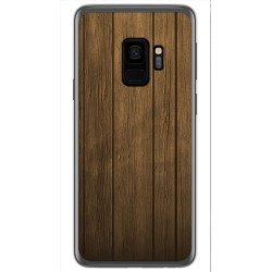 Funda Gel Tpu para Samsung Galaxy S9 Diseño Madera Dibujos