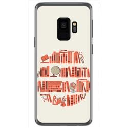 Funda Gel Tpu para Samsung Galaxy S9 Diseño Mundo Libro Dibujos