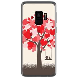 Funda Gel Tpu para Samsung Galaxy S9 Diseño Pajaritos Dibujos
