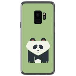 Funda Gel Tpu para Samsung Galaxy S9 Diseño Panda Dibujos