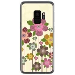 Funda Gel Tpu para Samsung Galaxy S9 Diseño Primavera En Flor Dibujos