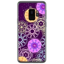 Funda Gel Tpu para Samsung Galaxy S9 Diseño Radial Dibujos