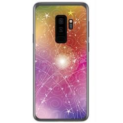Funda Gel Tpu para Samsung Galaxy S9 Plus Diseño Abstracto Dibujos