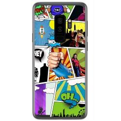 Funda Gel Tpu para Samsung Galaxy S9 Plus Diseño Comic Dibujos