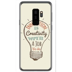 Funda Gel Tpu para Samsung Galaxy S9 Plus Diseño Creativity Dibujos