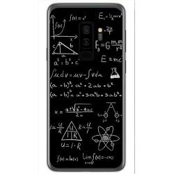 Funda Gel Tpu para Samsung Galaxy S9 Plus Diseño Formulas Dibujos