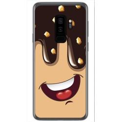 Funda Gel Tpu para Samsung Galaxy S9 Plus Diseño Helado Chocolate Dibujos
