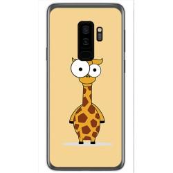 Funda Gel Tpu para Samsung Galaxy S9 Plus Diseño Jirafa Dibujos