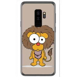 Funda Gel Tpu para Samsung Galaxy S9 Plus Diseño Leon Dibujos