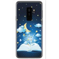 Funda Gel Tpu para Samsung Galaxy S9 Plus Diseño Libro Cuentos Dibujos