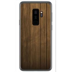 Funda Gel Tpu para Samsung Galaxy S9 Plus Diseño Madera Dibujos