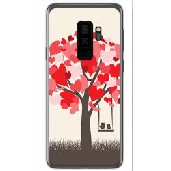 Funda Gel Tpu para Samsung Galaxy S9 Plus Diseño Pajaritos Dibujos