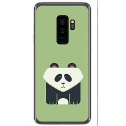 Funda Gel Tpu para Samsung Galaxy S9 Plus Diseño Panda Dibujos