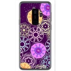 Funda Gel Tpu para Samsung Galaxy S9 Plus Diseño Radial Dibujos