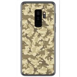 Funda Gel Tpu para Samsung Galaxy S9 Plus Diseño Sand Camuflaje Dibujos