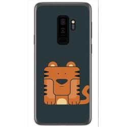 Funda Gel Tpu para Samsung Galaxy S9 Plus Diseño Tigre Dibujos