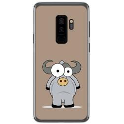 Funda Gel Tpu para Samsung Galaxy S9 Plus Diseño Toro Dibujos